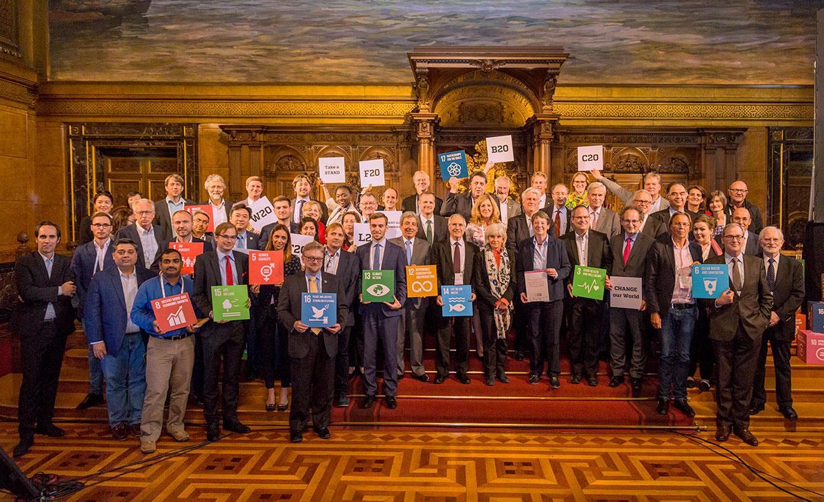 F20 summit in Hamburg July 2017